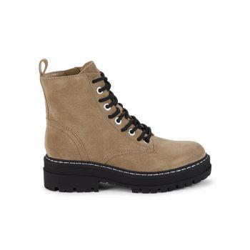 Замшевые ботинки на шнуровке Marc Fisher LTD