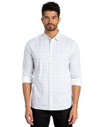 Спортивная рубашка с длинным рукавом в полоску Jared Lang