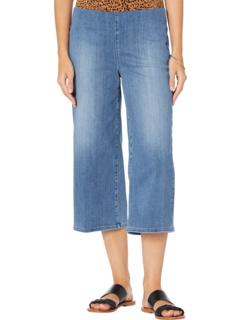 Джинсовые капри с широкими штанинами без застежки Petite в цвете Clean Horizon NYDJ Petite