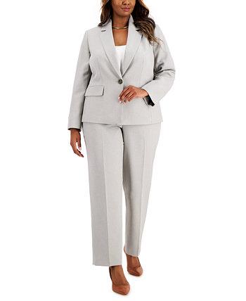 Plus Size Printed Pantsuit Le Suit