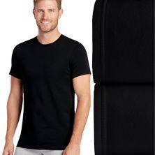 2 пары эластичных футболок с круглым вырезом Big & Tall Jockey® Jockey