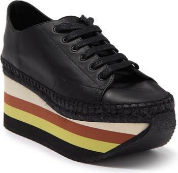 Кожаные кроссовки на платформе с полосками Harmony Paloma Barcelo