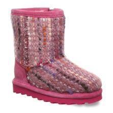 Bearpaw Elle Toddler Girls' Water-Resistant Winter Boots Bearpaw