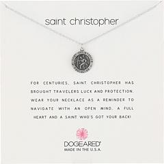 Ожерелье-напоминание о путешествии святого Кристофера Dogeared