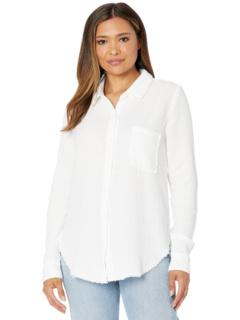 Double Layer Gauze Long Sleeve Button-Up Shirt Mod-o-doc