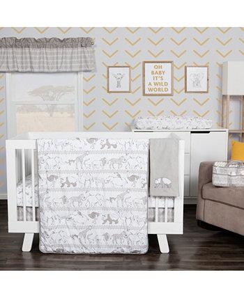 Комплект постельного белья для детской кроватки Waverly Congo Line из 5 предметов Trend Lab
