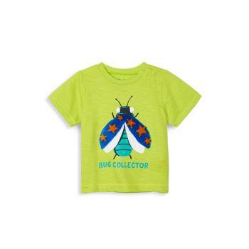 Хлопковая футболка Baby and Little Boy's Bug Collector Hatley