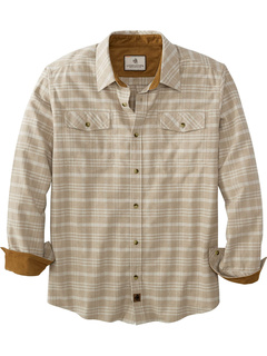 Фланелевая меланжевая рубашка Big & Tall Legendary Legendary Whitetails