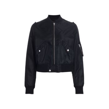 Куртка-бомбер на молнии MM6 Maison Margiela