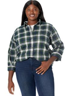 Рубашка в шотландскую клетку больших размеров L.L.Bean