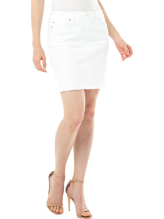 "17"" Fray Hem Five Pocket Skirt Liverpool"