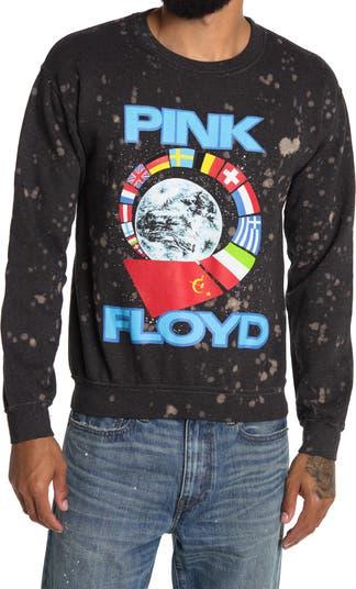 Флисовая толстовка с круглым вырезом Pink Floyd Wash Merch Traffic