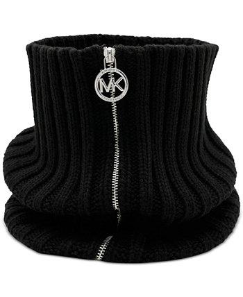 Вязаная куртка на молнии в рубчик Michael Kors
