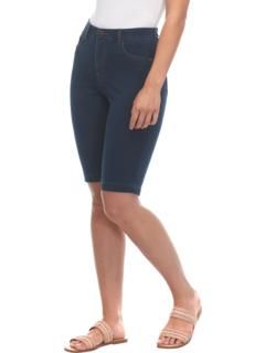 Комфортные джинсовые бермуды без застежки в цвете Dark Indigo FDJ French Dressing Jeans