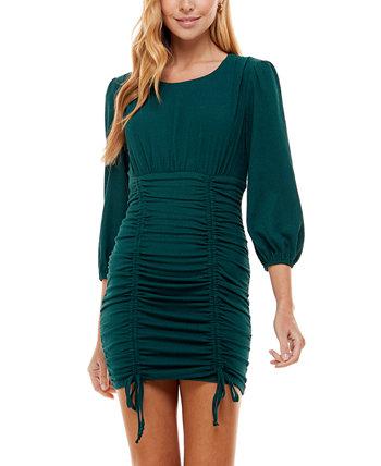 Облегающее платье со сборками для юниоров City Studios