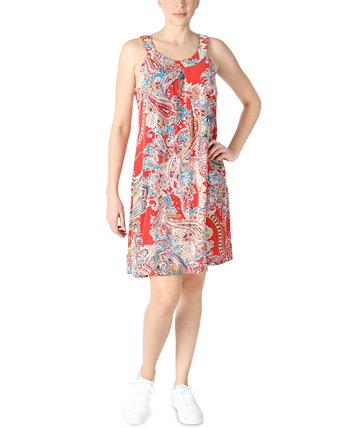Платье прямого кроя без рукавов с принтом Robbie Bee