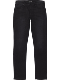 Brixton Fit Brush Back Jeans in Black Blast (Big Kids) Joe's Jeans Kids