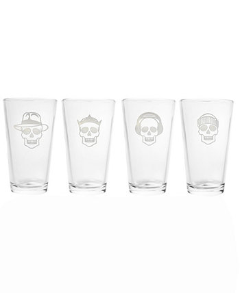 Numbskulls Pint 16Oz - Набор из 4 стаканов Rolf Glass