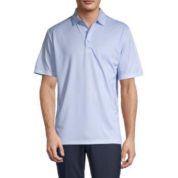Solid Short-Sleeve Polo Callaway