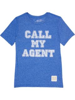 Футболка с круглым вырезом Mock Twist Call My Agent (Big Kids) The Original Retro Brand Kids