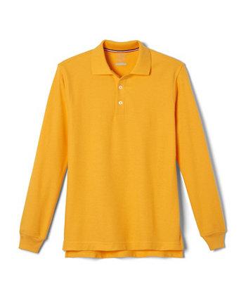 Рубашка поло Pique с длинными рукавами Big Boys French Toast