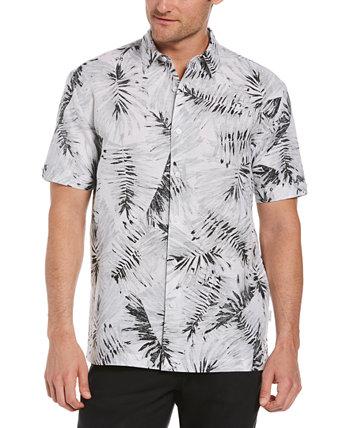 Мужская рубашка с принтом ладони Cubavera