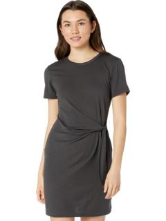 Платье-футболка Zooey из хлопкового модала с завязкой на талии Michael Stars