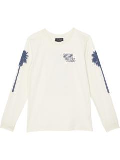 Рубашка с длинным рукавом Good Vibes с изображением пальмы (для малышей / маленьких детей / старших детей) Tiny Whales