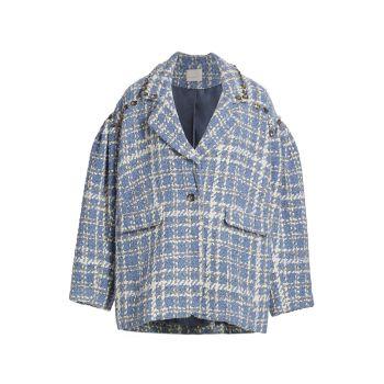 Пальто Mackenzie Grid Cinq a Sept