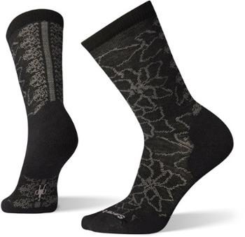 Носки с рисунком пуансеттия - женские Smartwool