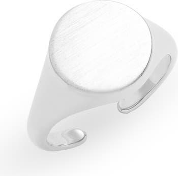 Кольцо x Draya Michele, регулируемое кольцо-печатка 8 Other Reasons