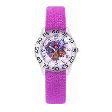 Детские прозрачные и розовые пластиковые часы Disney's Raya and the Last Dragon Disney