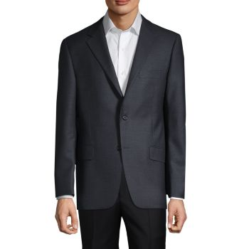 Пиджак из смесовой шерсти Hickey Freeman