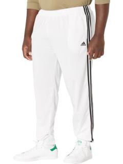 Трикотажные брюки-джоггеры с 3 полосками Big & Tall Essentials Adidas