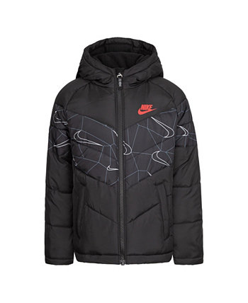 Little Boys Printed Jacket Nike