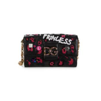 Кожаная сумка через плечо DG Millennials в стиле пэчворк DOLCE&GABBANA