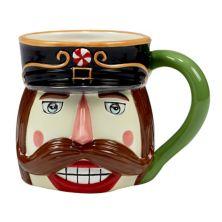 Certified International Holiday Magic Nutcracker 4-pc. 3D Mug Set Certified International