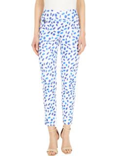 Узкие брюки до щиколотки с принтом Cobalt Dot 28 '' Lisette L Montreal