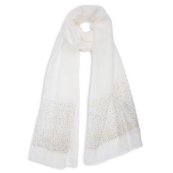 Украшенный длинный шарф Bindya