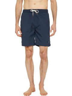 Длинная длина - плавательные шорты из твердого переработанного нейлона Scotch & Soda