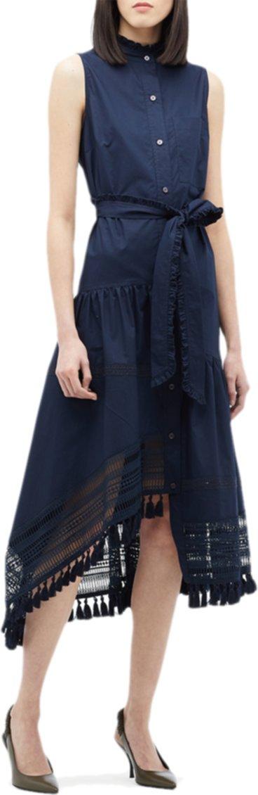 Макси-платье с кружевной вставкой Neriola DEREK LAM