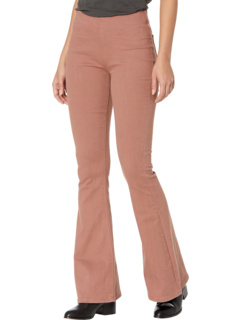 Расклешенные брюки без застежки с высокой посадкой в цвете Dusty Rose W1P6156 Rock and Roll Cowgirl