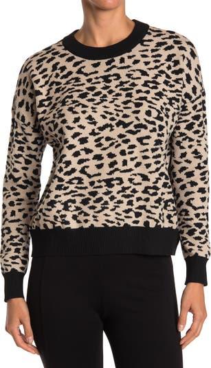 Свитер-пуловер с круглым вырезом и длинными рукавами T Tahari