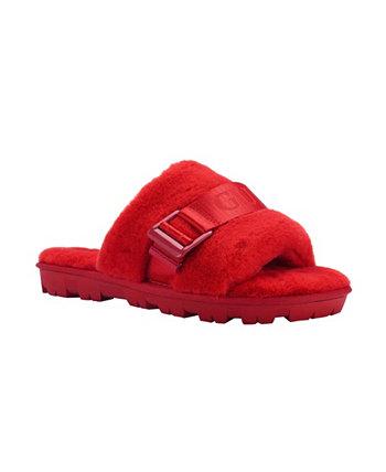 Женские удобные сандалии на плоской подошве GUESS