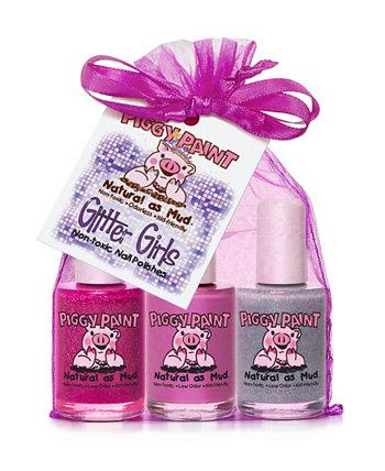 Блеск для девочек Лак для ногтей Piggy Paint