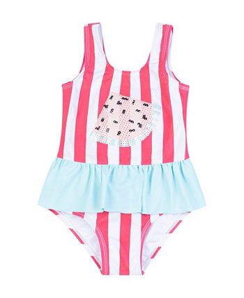 Сплошные купальники с арбузом для маленьких девочек Koala baby