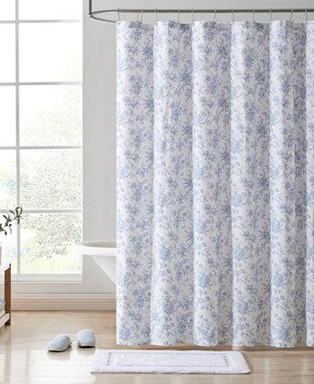 "Walled Garden Shower Curtain, 72"" x 72"" Laura Ashley"