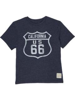 Футболка с круглым вырезом Tri-Blend California Route 66 (Big Kids) The Original Retro Brand Kids