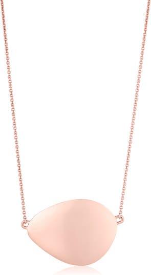 Ожерелье с подвеской Nura Large Teardrop MONICA VINADER