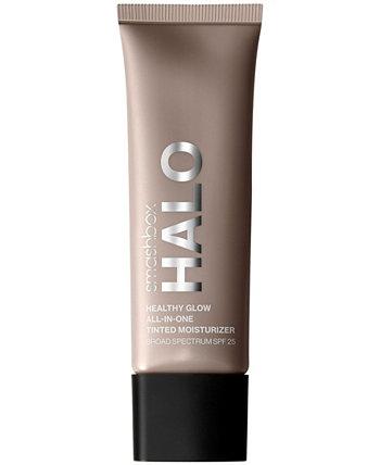 Halo Healthy Glow Тонирующий увлажняющий крем широкого спектра действия SPF 25, 1,4 унции. Smashbox